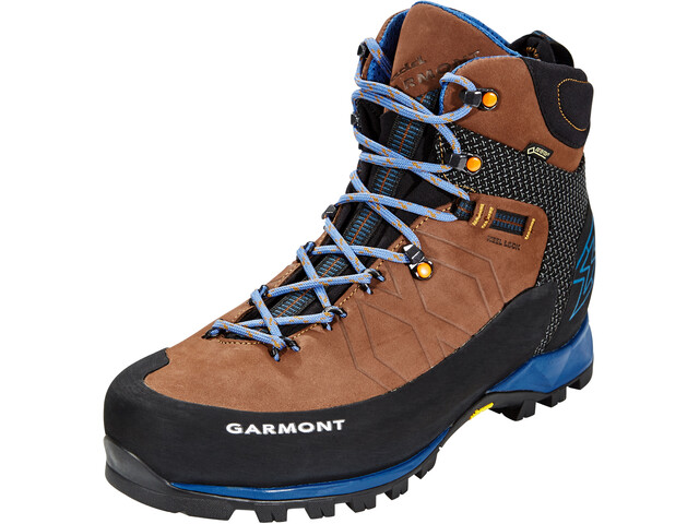 Garmont Toubkal GTX Shoes Men dark brown/blue